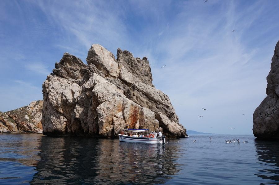 barcanuria visite iles medes barque catalane